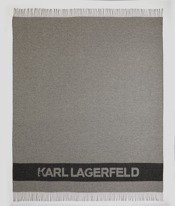 KARL LAGERFELD PLAID K/LOGO
