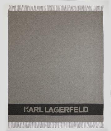 KARL LAGERFELD K/LOGO BLANKET