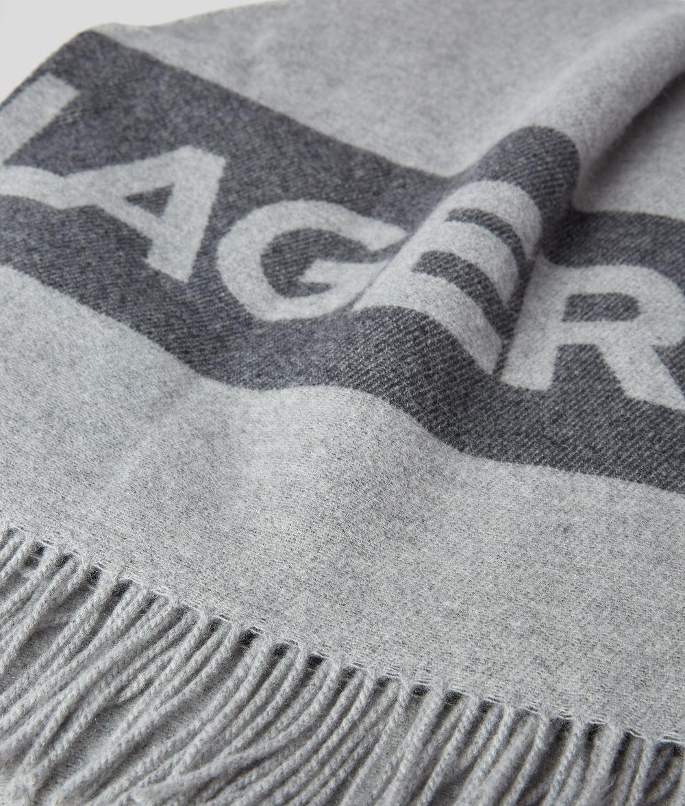 KARL LAGERFELD K/Logo Blanket Homeware E d