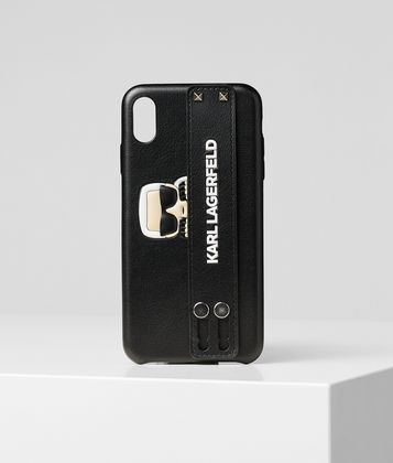 KARL LAGERFELD KARL HANDLE IPHONE XS MAX COVER
