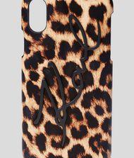 KARL LAGERFELD K/Signature Leopard iPhone X/XS Cover 9_f