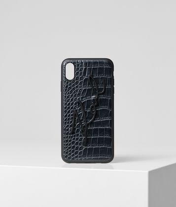 KARL LAGERFELD K/SIGNATURE CROCO IPHONE XS MAX COVER