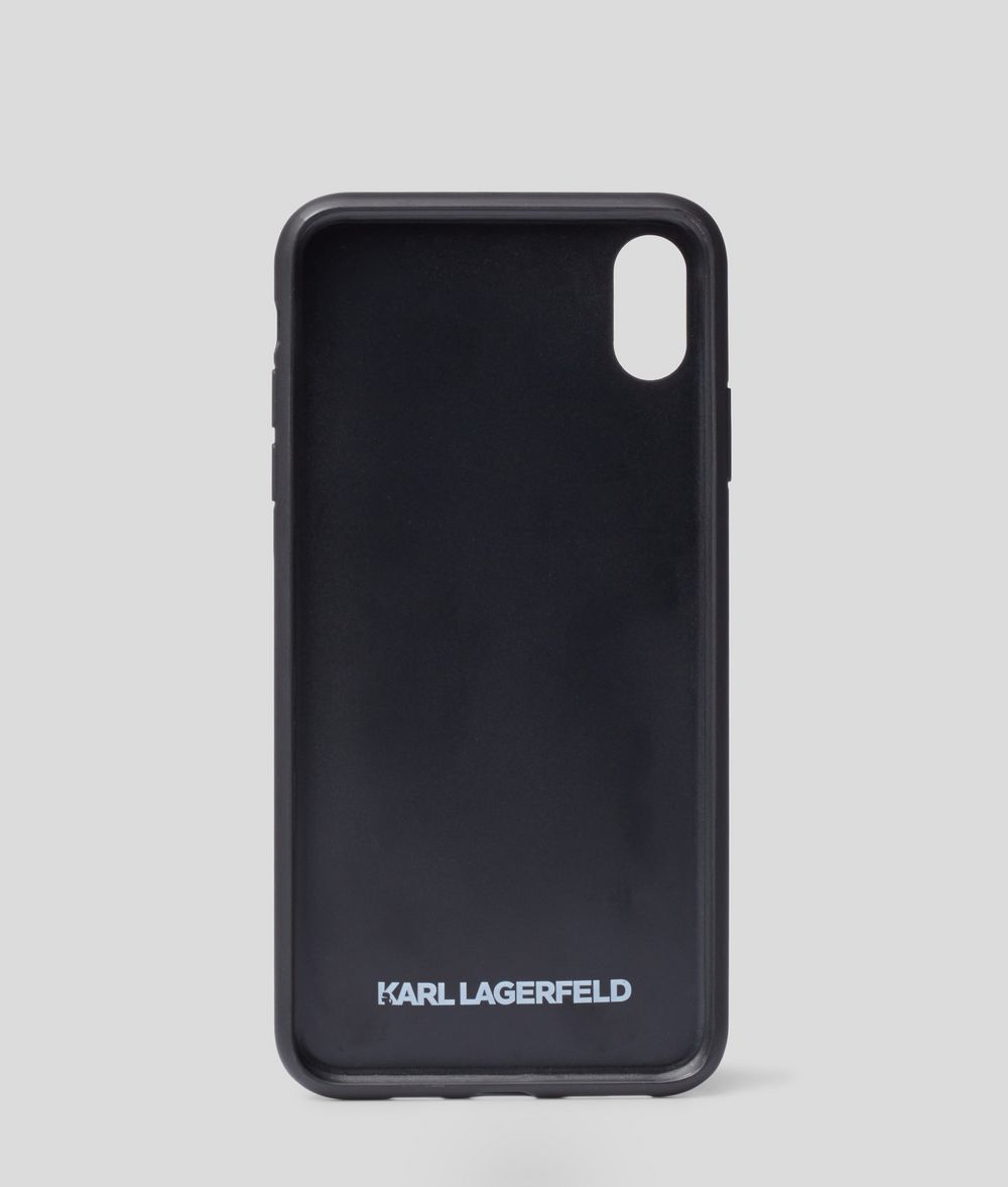 KARL LAGERFELD K/Signature Croco iPhone XS MAX Cover iPad/iPhone Case Woman d