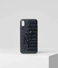 KARL LAGERFELD K/Signature Croco iPhone XS MAX Cover 9_f