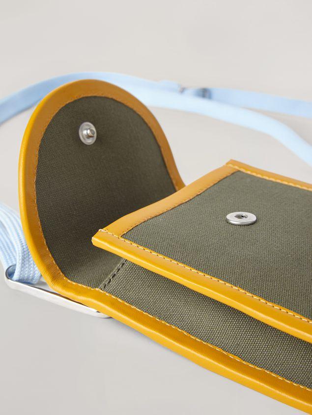 Marni Phone case in cotton canvas Man - 5