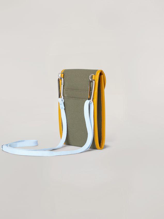 Marni Phone case in cotton canvas Man - 3