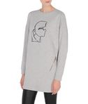 Karl Head Sweatshirt Dress