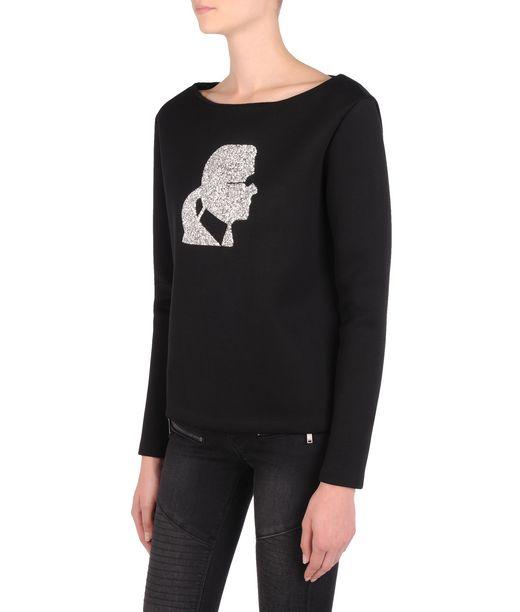 KARL LAGERFELD Sparkle Karl sweatshirt 12_f