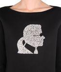 KARL LAGERFELD Sparkle Karl sweatshirt 8_e