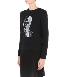 KARL LAGERFELD KARL PHOTO SWEATSHIRT