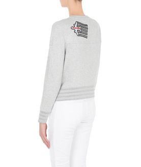 KARL LAGERFELD FLY WITH KARL PATCHES SWEATSHIRT