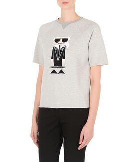 KARL LAGERFELD KOCKTAIL KARL SWEAT