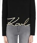KARL LAGERFELD Top Gold avec signature 8_e