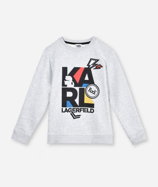 KARL LAGERFELD KARL COLORED LOGO SWEATSHIRT 12_f