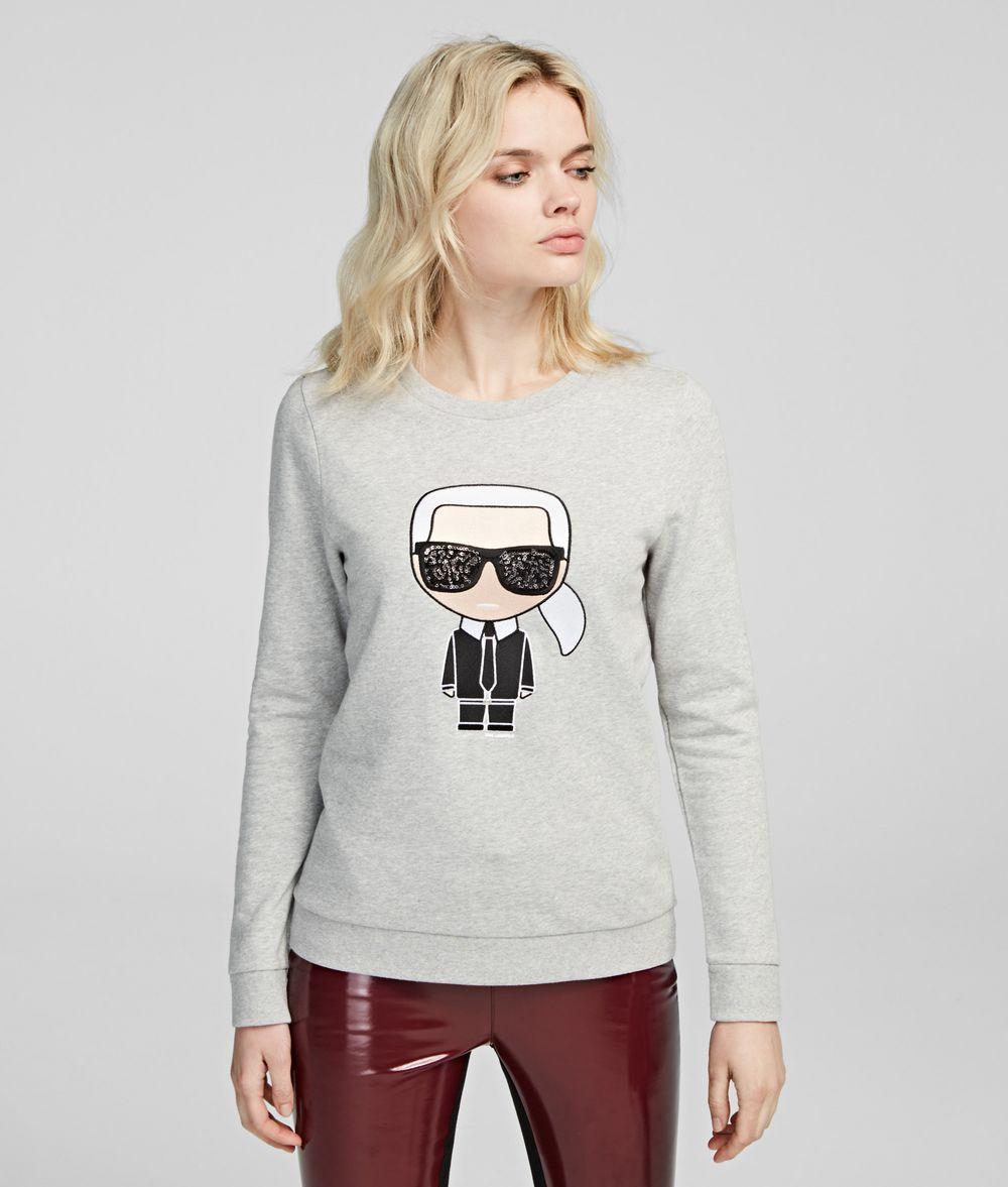 KARL LAGERFELD K/Ikonik Sweatshirt Sweatshirt Damen f