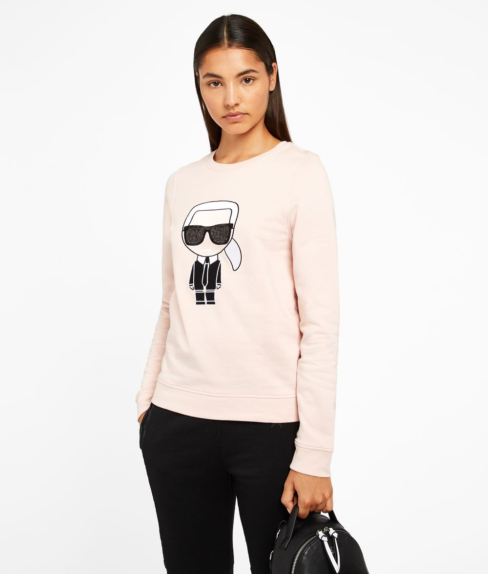 KARL LAGERFELD Karl Ikonik Sweatshirt Sweatshirt Woman f