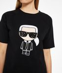KARL LAGERFELD Karl Ikonik Short Sleeved Sweatshirt 8_e