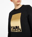 Karl Lagerfeld Foil Logo Sweat