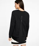 KARL LAGERFELD Embroidered Pleated Back Sweat 8_r