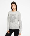 KARL LAGERFELD Embroidered Pleated Back Sweat 8_f
