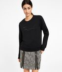 Karl Pleated Effect Sweatshirt