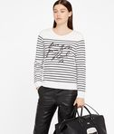 KARL LAGERFELD Love From Paris Sequin Sweat 8_e