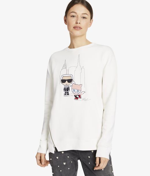 KARL LAGERFELD Nyc Ice Skating Sweatshirt 12_f