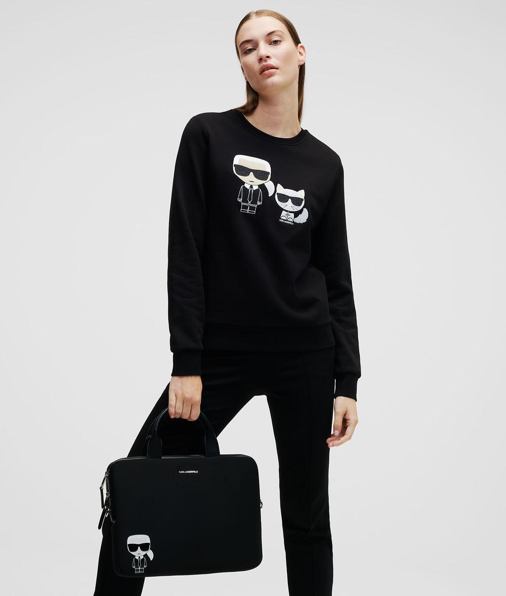 KARL LAGERFELD Karl & Choupette Ikonik Sweatshirt Sweatshirt Damen f