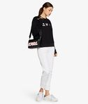 KARL LAGERFELD Sweat-shirt détail Karl et Choupette version émoji 8_r