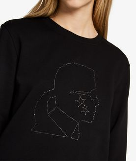 KARL LAGERFELD FELPA KARL CONSTELLATION HEAD