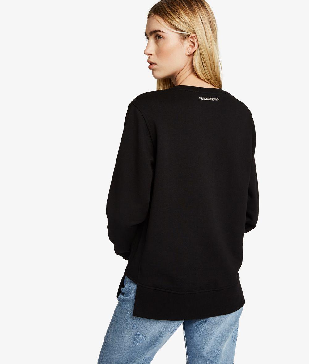 KARL LAGERFELD Sweatshirt Karl mit Sternkonstellationen Sweatshirt Damen d