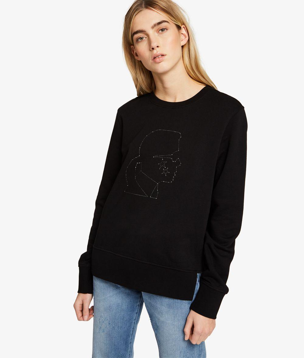 KARL LAGERFELD Sweatshirt Karl mit Sternkonstellationen Sweatshirt Damen f