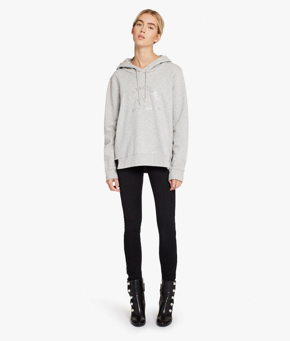 KARL LAGERFELD Kl Logo Hoodie Sweatshirt Woman d