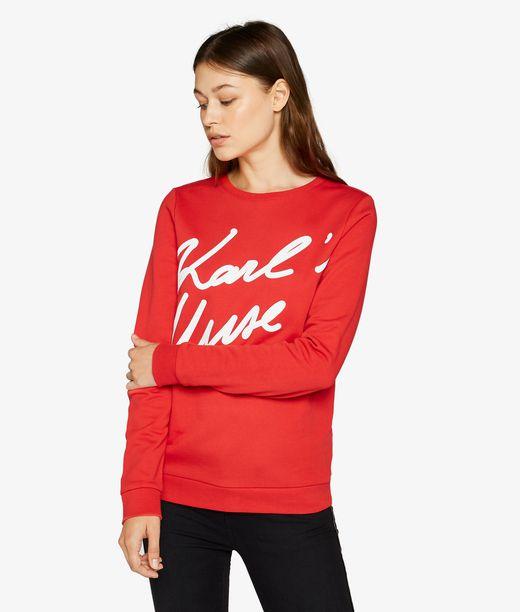 KARL LAGERFELD Karl'S Muse Sweatshirt 12_f