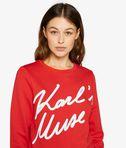 KARL LAGERFELD Karl'S Muse Sweatshirt 8_e