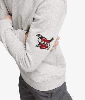KARL LAGERFELD CAPTAIN KARL PATCH SWEATSHIRT