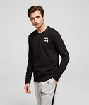 Ikonik Karl patch sweatshirt