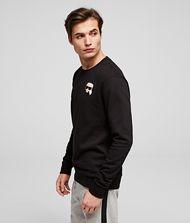 KARL LAGERFELD Ikonik Karl patch sweatshirt 9_f