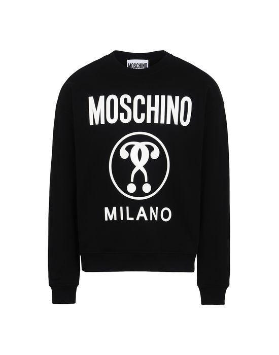 TOPWEAR - Sweatshirts Moschino New Cheap Online Discount Affordable Shop Huge Surprise Discount Footlocker Do9zzP3Pf