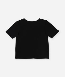 KARL LAGERFELD KARL SIGNATURE NEOPRENE TOP