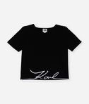 Karl signature neoprene top