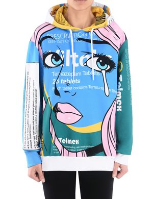 MOSCHINO Kurzärmliges T-Shirt Damen r