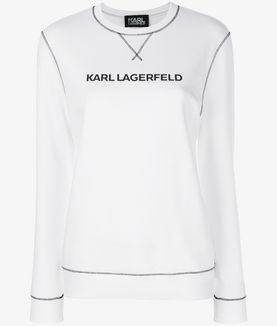 KARL LAGERFELD UNISEX - FELPA KARL'S ESSENTIAL