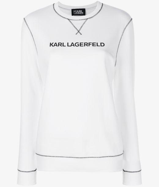 KARL LAGERFELD UNISEX - Karl's Essential Sweatshirt 12_f