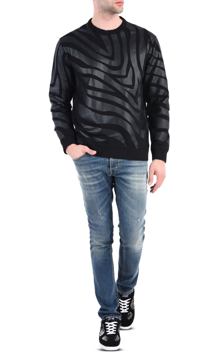 JUST CAVALLI Zebra sweatshirt Sweatshirt [*** pickupInStoreShippingNotGuaranteed_info ***] r