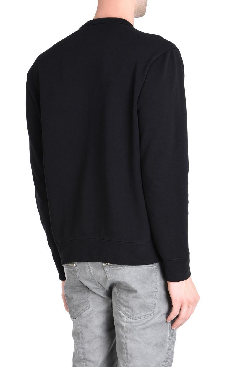 JUST CAVALLI Double-detail Leo sweatshirt Sweatshirt Man d