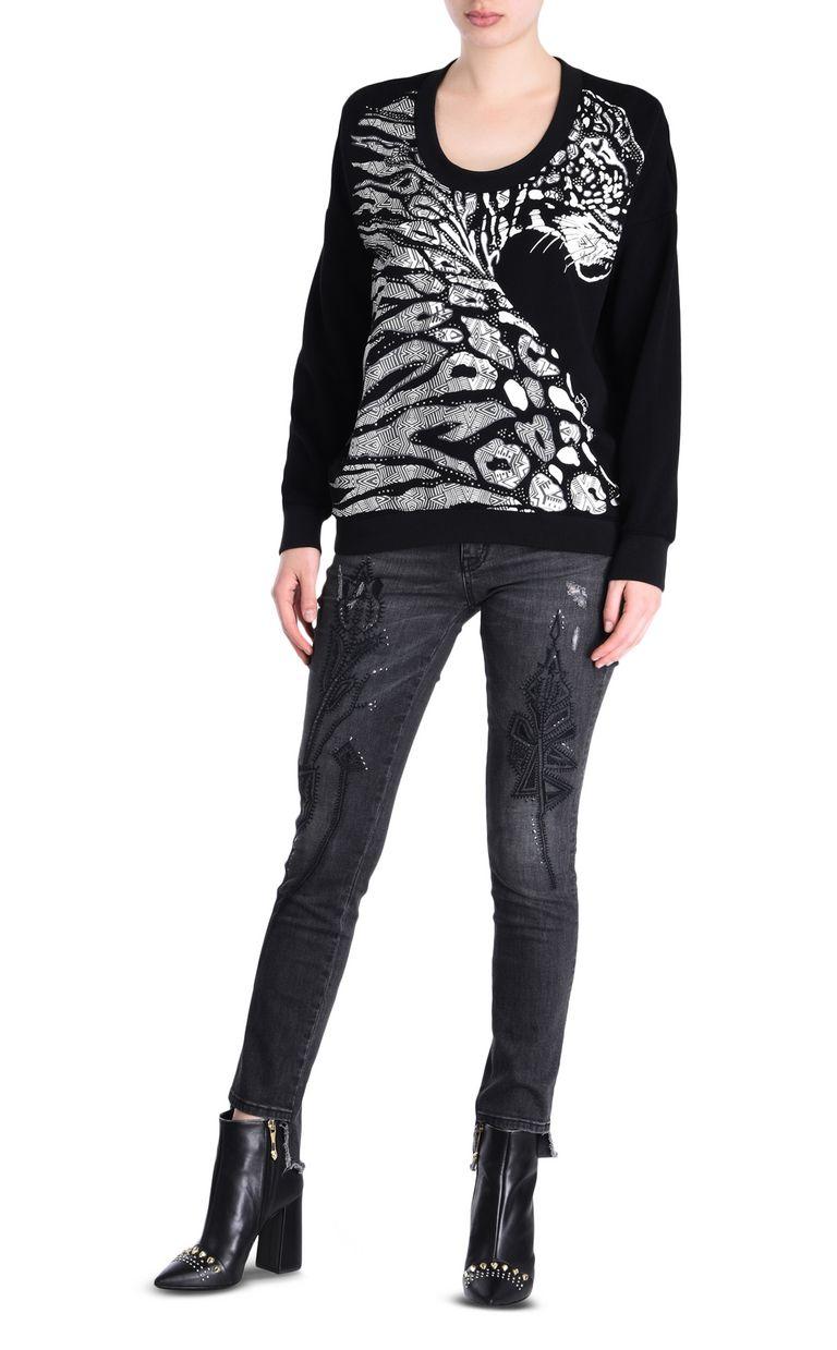 JUST CAVALLI Leopard sweatshirt Sweatshirt [*** pickupInStoreShipping_info ***] r