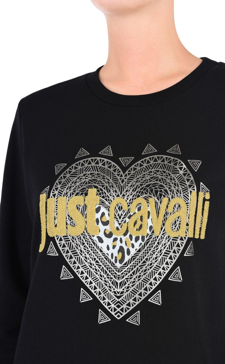 JUST CAVALLI Just Cavalli heart sweatshirt Sweatshirt [*** pickupInStoreShipping_info ***] e