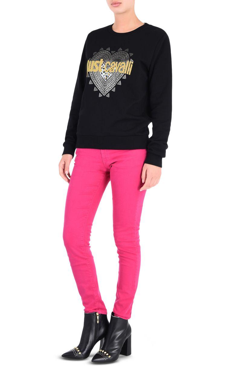 JUST CAVALLI Just Cavalli heart sweatshirt Sweatshirt [*** pickupInStoreShipping_info ***] r