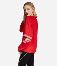 KARL LAGERFELD Sweatshirt mit Cut-out am Ärmel Sweatshirt Damen e